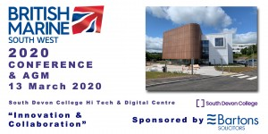 Conference & AGM 2020 - Registration is Open Now! @ South Devon College, Hi Tech & Digital Centre